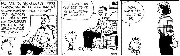 calvin and hobbes comic strips effects on my philosophical and creative thinking Dear mr watterson, a documentary film on the calvin and hobbes comic strip and its creator is a love story to bill watterson it looks at not only his effect on readers but on the comics industry, ray said comics are a creative art form that media tends to bank on.