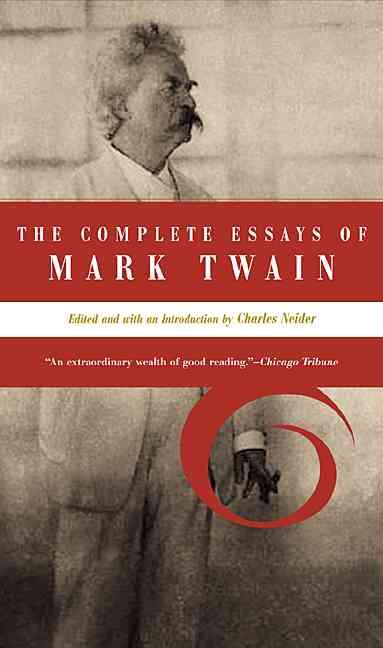 by essay mark twain written