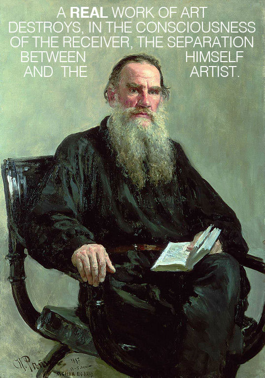 Leo Tolstoy on Emotional Infectiousness and What Separates Good Art from the Bad