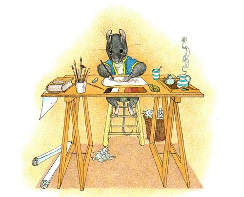 Need a House Call Ms Mouse Progressive Vintage Childrens Book – Architect Job Description