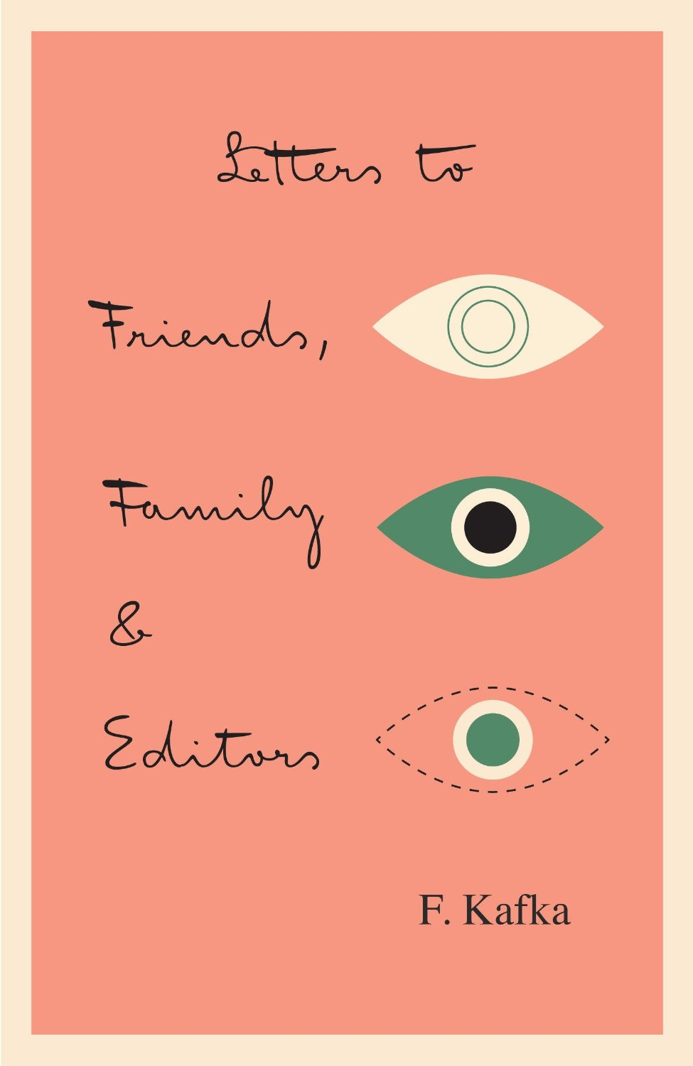 Kafka Letters To Friends Family And Editors