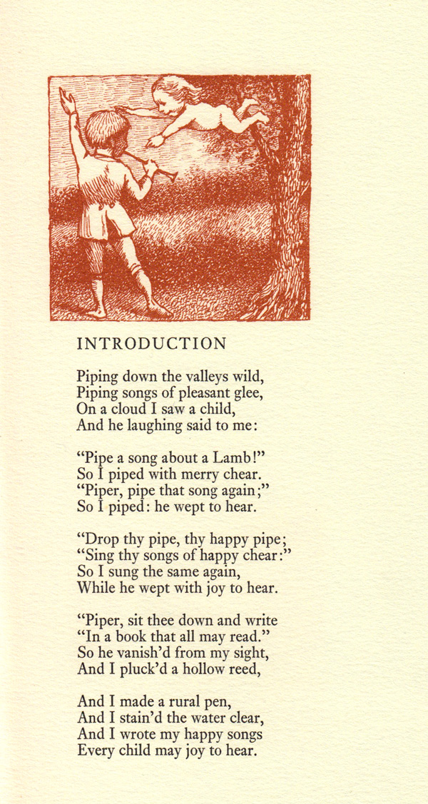 The Chimney Sweeper (I) - Language, tone and structure
