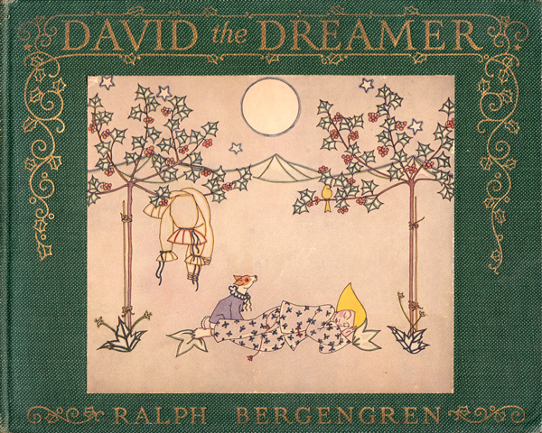 David the Dreamer: Extraordinary Philosophical 1922 Children's Book Illustrated by Freud's Cross-Dressing Niece Named Tom