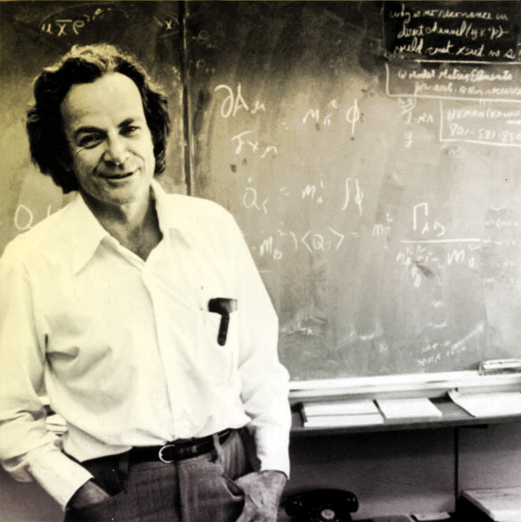 dr richard p feynman essay But always energetic physicist, dr richard feynman gave a lecture at  order  to achieve statistical significance in the ubiquitous p-value test.